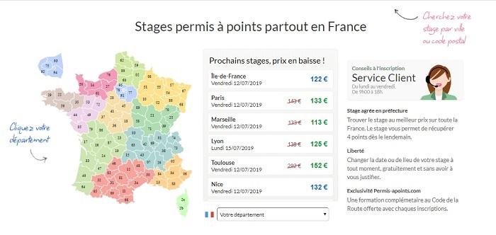 stage de récupération de points Angers